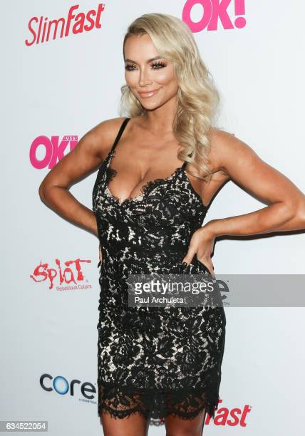 Model Lindsey Pelas attends OK Magazine's preGRAMMY event at Avalon Hollywood on February 9 2017 in Los Angeles California