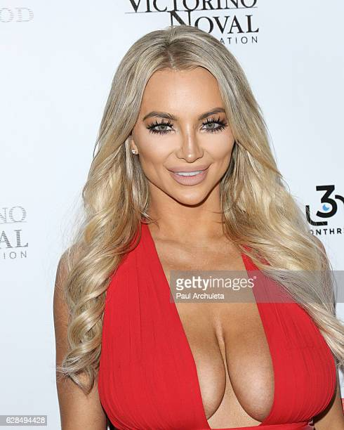 Model Lindsey Pelas attends the 9th annual 'Babes In Toyland' charity toy drive at Avalon on December 7 2016 in Hollywood California