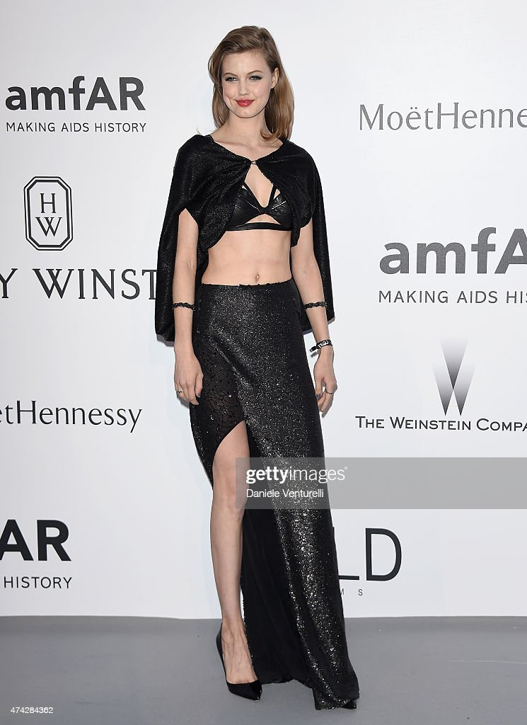 Model <a gi-track='captionPersonalityLinkClicked' href=/galleries/search?phrase=Lindsey+Wixson&family=editorial&specificpeople=6876942 ng-click='$event.stopPropagation()'>Lindsey Wixson</a> attends amfAR's 22nd Cinema Against AIDS Gala, Presented By Bold Films And Harry Winston at Hotel du Cap-Eden-Roc on May 21, 2015 in Cap d'Antibes, France.