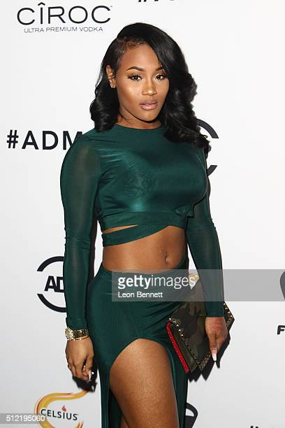 Model Lira Galore attends the All Def Movie Awards Arrivals at TCL Chinese 6 Theatres on February 24 2016 in Hollywood California