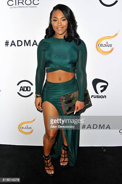 Model Lira Galore attends the All Def Movie Awards at Lure Nightclub on February 24 2016 in Los Angeles California