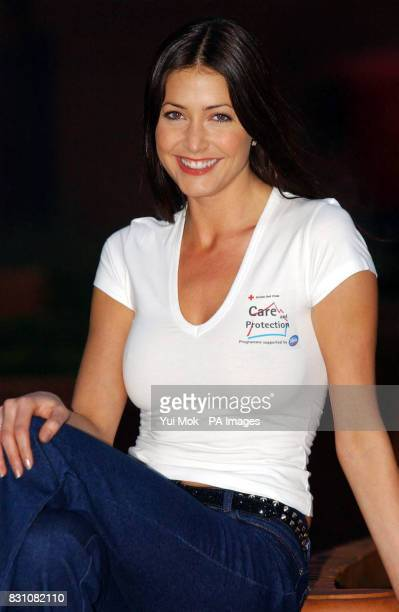 Model Lisa Snowdon at a photocall during the launch of 'Home Grown Heroes' a new five year partnership between Domestos and the British Red Cross to...