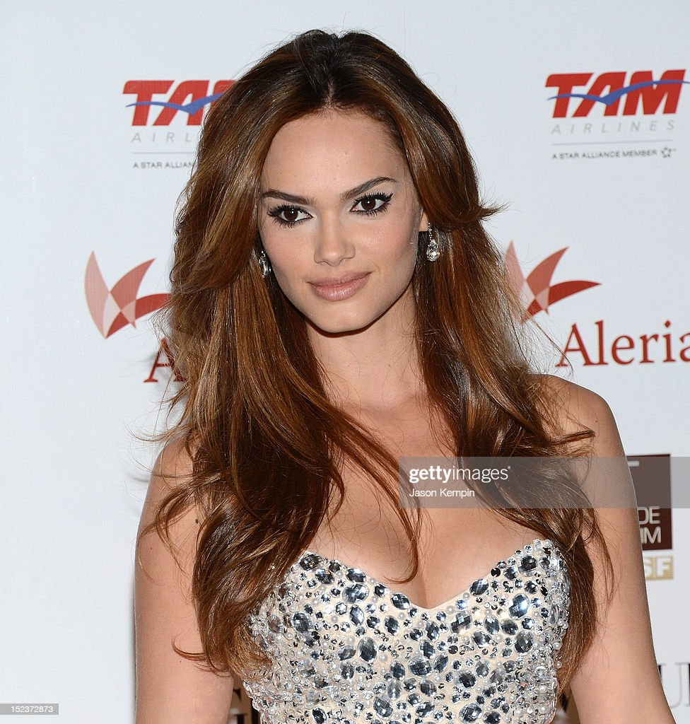 Model Lisalla Montenegro attends the Annual Brazil Foundation Gala Party at the American Museum of Natural History on September 19, 2012 in New York City.