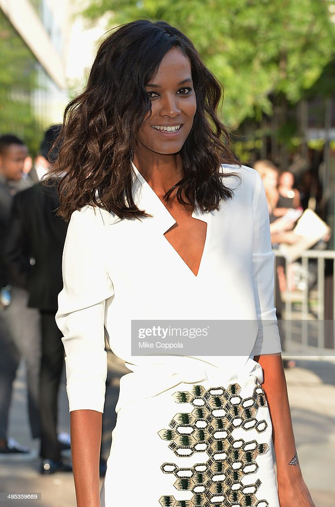 Model <a gi-track='captionPersonalityLinkClicked' href=/galleries/search?phrase=Liya+Kebede&family=editorial&specificpeople=220361 ng-click='$event.stopPropagation()'>Liya Kebede</a> attends the 2014 CFDA fashion awards at Alice Tully Hall, Lincoln Center on June 2, 2014 in New York City.
