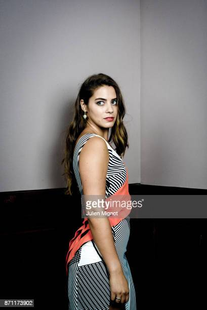 Model Lorenza Izzo is photographed for Grazia Magazine on September 2015 in Deauville France