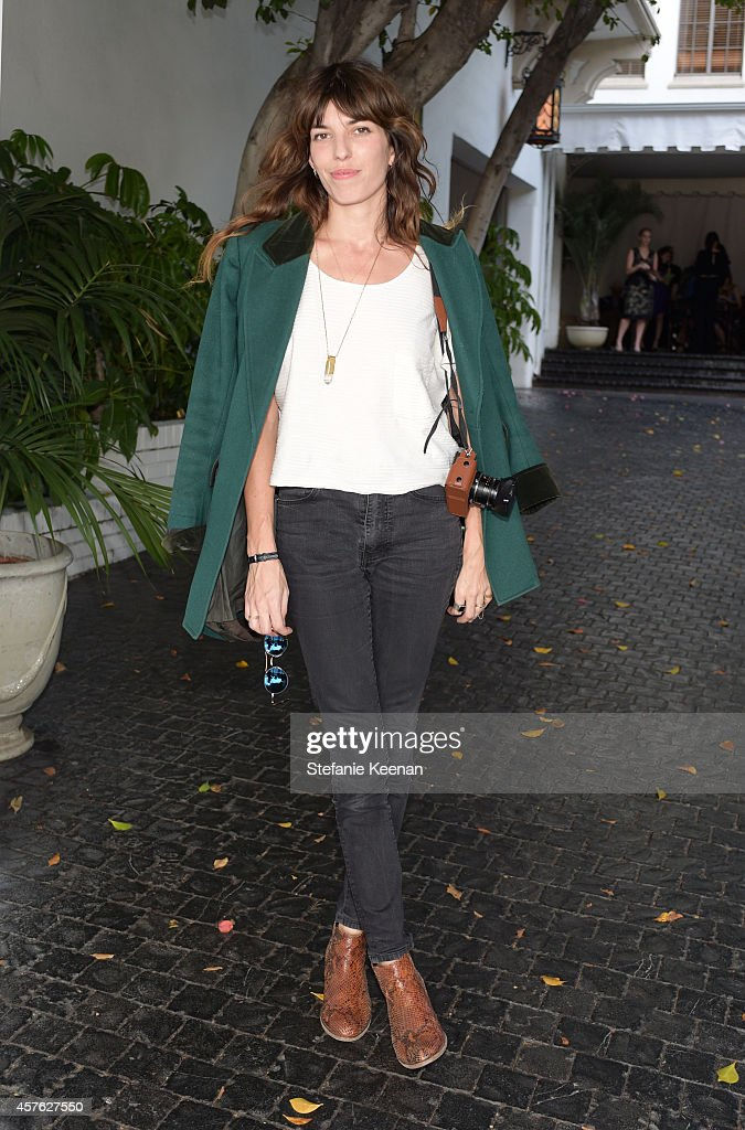 Model <a gi-track='captionPersonalityLinkClicked' href=/galleries/search?phrase=Lou+Doillon&family=editorial&specificpeople=208822 ng-click='$event.stopPropagation()'>Lou Doillon</a> attends the 2014 CFDA/Vogue Fashion Fund Event presented by thecorner.com and supported by Aveda, Lexus, and Maybelline New York at Chateau Marmont on October 21, 2014 in Los Angeles, California.