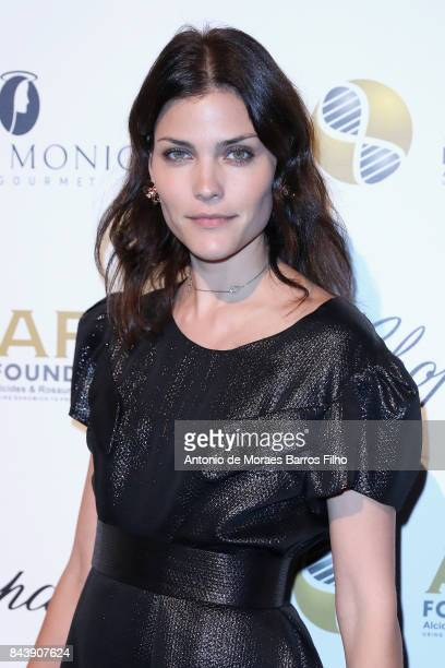 Model Luciana Curtis attends the Alcides Rosaura Foundations' 'A Brazilian Night' to Benefit Memorial Sloan Kettering Cancer Center at Cipriani 42nd...