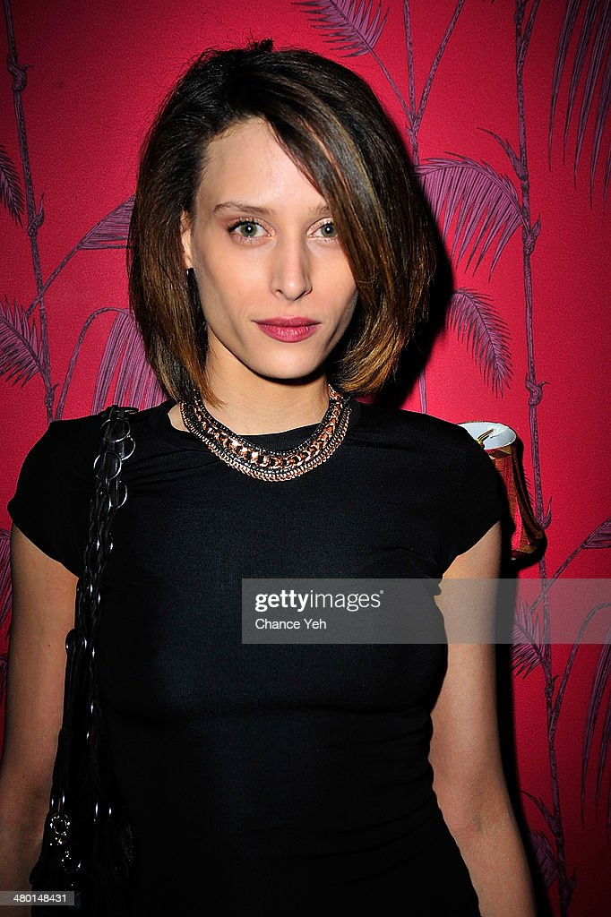 Model Ludmilla Perignon attends 2nd Supermodel Saturday at No.8 on March 22, 2014 in New York City.