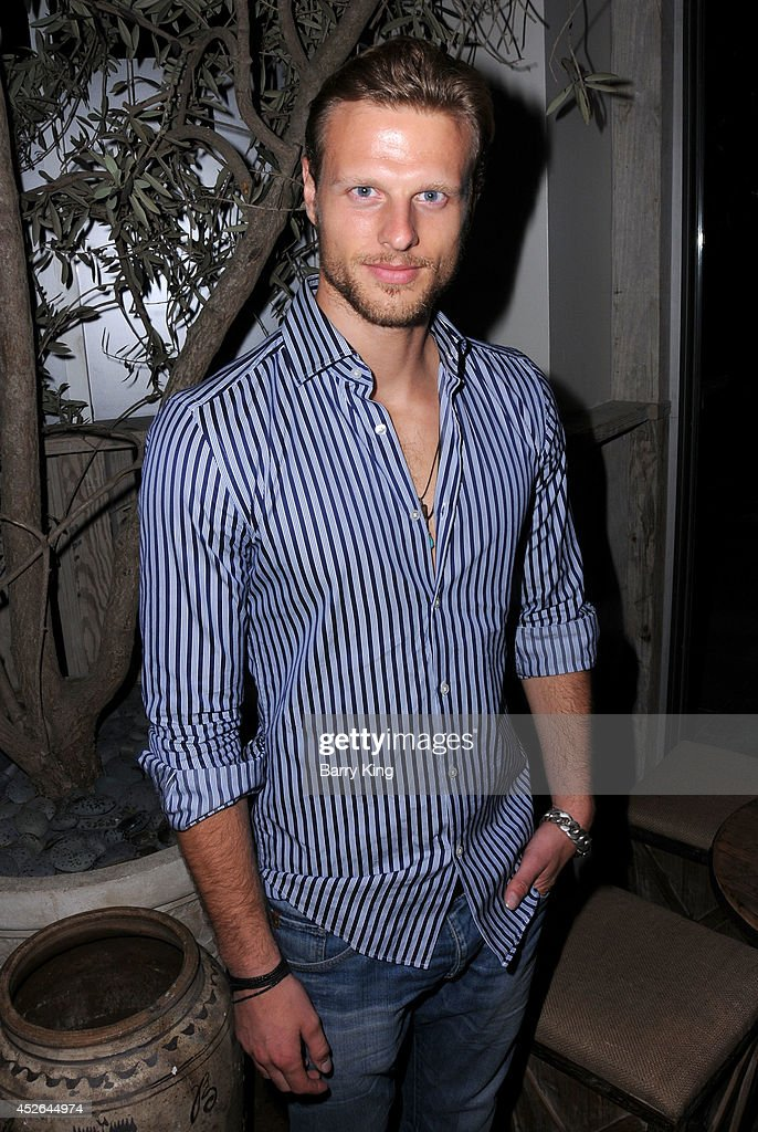 Model Luis Kelling attends the DT Model Management 2 Year Anniversary Celebration on July 24, 2014 at Pump in West Hollywood, California.
