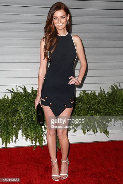 Model Lydia Hearst arrives at Maxim Hot 100 at Pacific Design Center on June 10 2014 in West Hollywood California