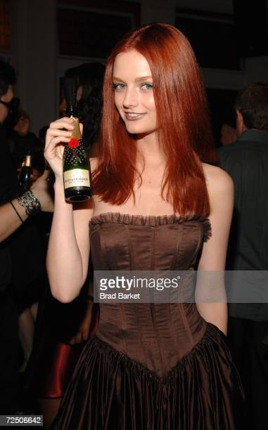 Model Lydia Hearst attends Out Magazine's Out 100 Awards party sponsored by Moet Hennessey at Capitale on November 10 2006 in New York City