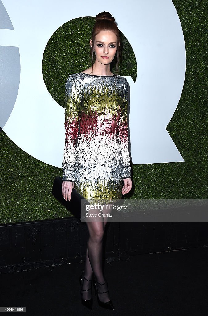 Model Lydia Hearst attends the GQ 20th Anniversary Men Of The Year Party at Chateau Marmont on December 3 2015 in Los Angeles California