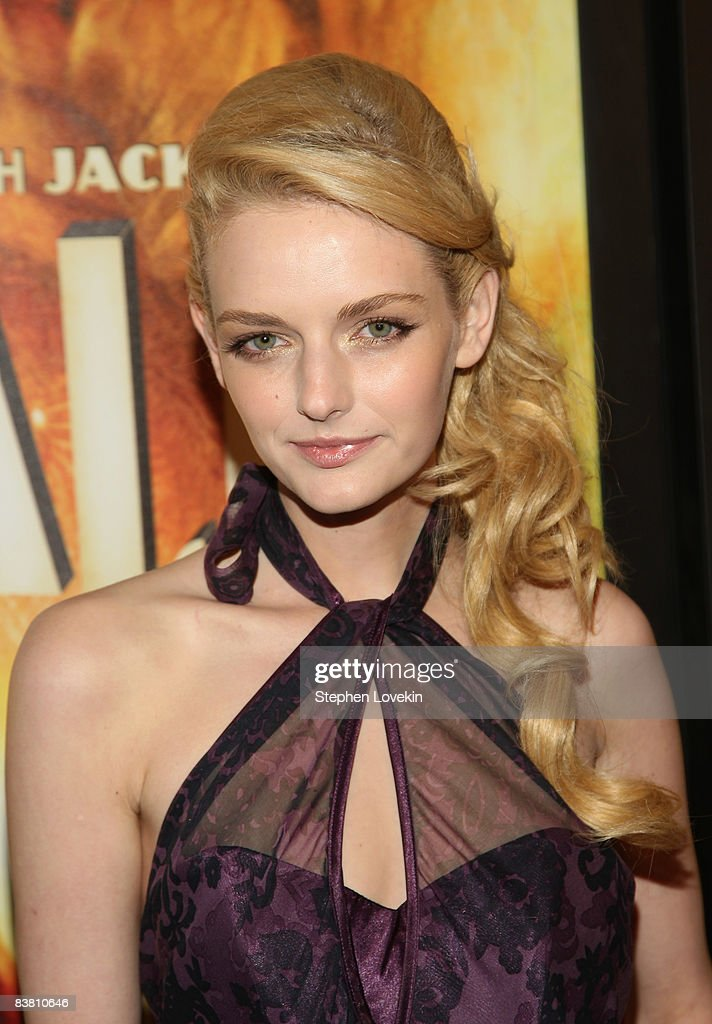 Model Lydia Hearst attends the premiere of 'Australia' at the Ziegfeld Theater on November 24, 2008 in New York City.