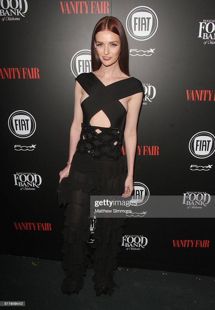 Model Lydia Hearst attends Vanity Fair and FIAT Toast To 'Young Hollywood' at Chateau Marmont on February 23, 2016 in Los Angeles, California.