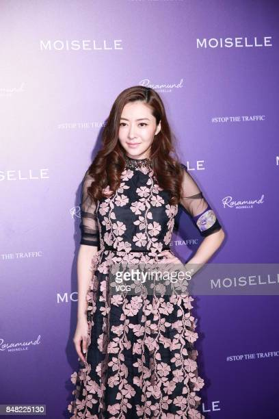 Model Lynn Hung attends Moiselle 'Stop the Traffic' show on September 16 2017 in Hong Kong China