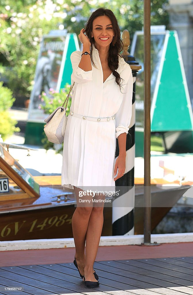 Model Madalina Ghenea attends day 6 of the 70th Venice International Film Festival on September 2, 2013 in Venice, Italy.