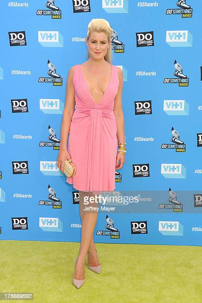 Model Madison Pard arrives at the DoSomethingorg and VH1's 2013 Do Something Awards at Avalon on July 31 2013 in Hollywood California