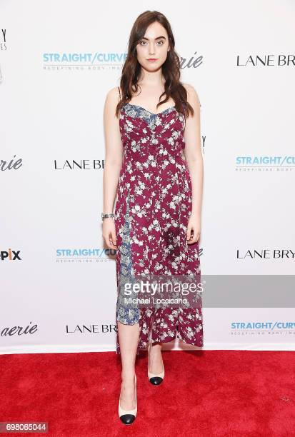 Model Madison Schill attends the 'Straight/Curve' New York premiere at the Whitby Hotel on June 19 2017 in New York City