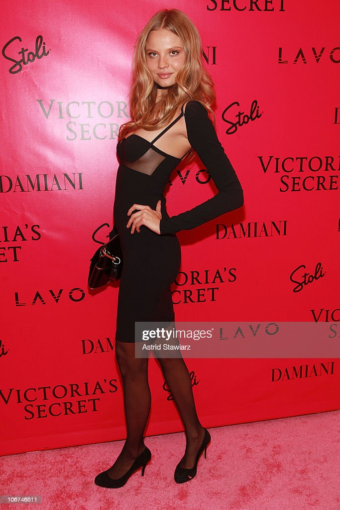 Model Magdalena Frakowiak attends the after party following the 2010 Victoria's Secret Fashion Show at Lavo on November 10, 2010 in New York City.