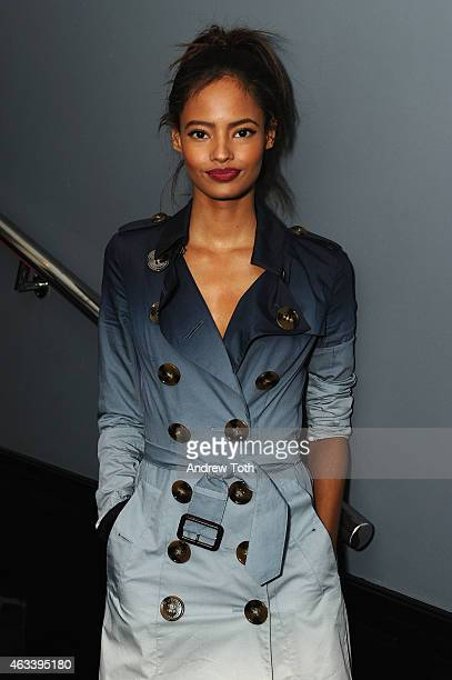 Model Malaika Firth attends The Daily Front Row's 2015 Model Issue reception during MercedesBenz Fashion Week Fall 2015 at Beautique on February 13...