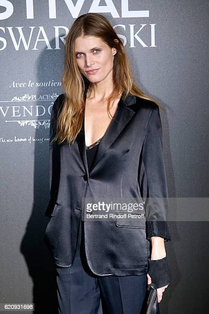 Model Malgosia Bela attends the Vogue Fashion Festival at Hotel Potocki on November 3 2016 in Paris France