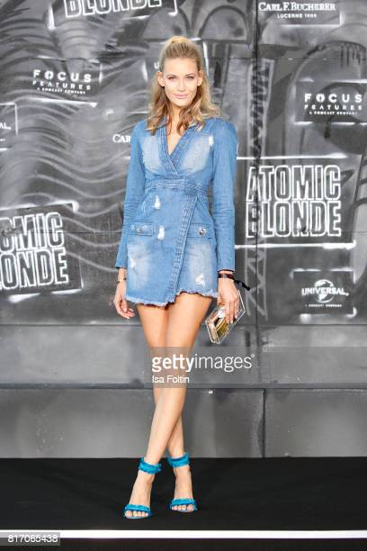 Model Mandy Bork attends the 'Atomic Blonde' World Premiere at Stage Theater on July 17 2017 in Berlin Germany