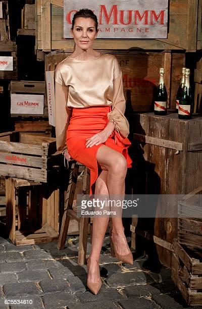 Model Mar Flores attends the ''Maison GHMumm' presentation at Carlos Maria de Castro palace on November 24 2016 in Madrid Spain