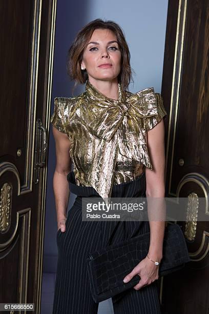 Model Mar Flores attends the Santiago del Palacio's new collection presentation at Gran Via Casino on October 19 2016 in Madrid Spain Spanish model...
