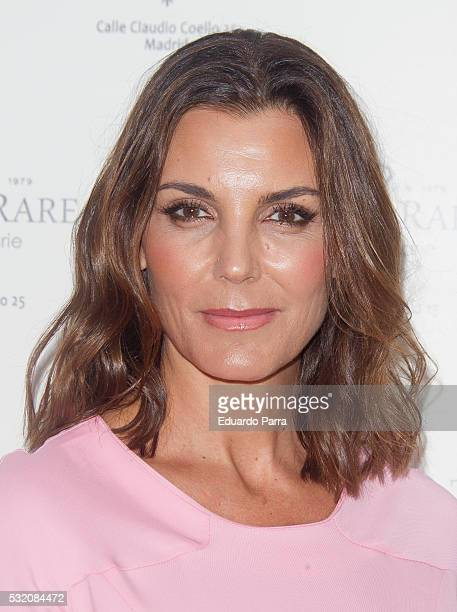 Model Mar Flores attends the Tresor Rare photocall at Emperatriz hotel on May 18 2016 in Madrid Spain