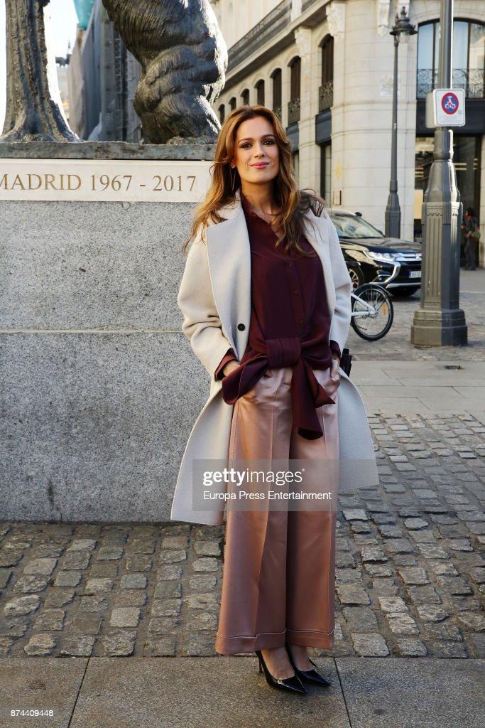 Model Mar Saura presents Madrid Horse Week 2017 on November 14, 2017 in Madrid, Spain.