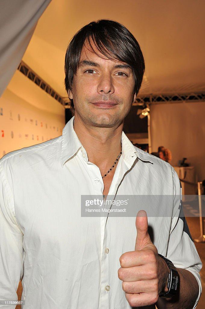 Model Marcus Schenkenberg attends the Movie Meets Media party at P1 on June 27 2011 in Munich Germany