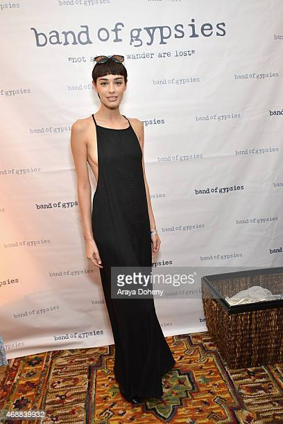 Model Margaux Brooke attends Kari Feinstein's Music Festival Style Lounge at Sunset Marquis Hotel Villas on April 7 2015 in West Hollywood California
