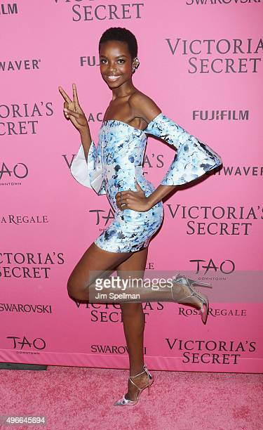 Model Maria Borges attends the 2015 Victoria's Secret Fashion Show after party at TAO Downtown on November 10 2015 in New York City