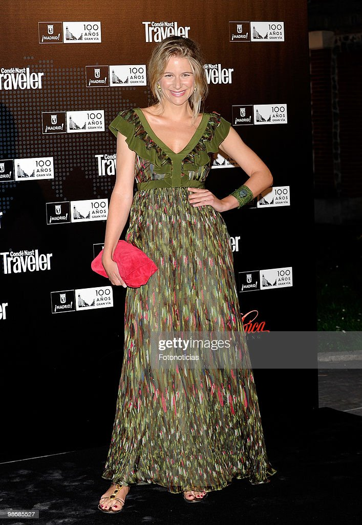 Model Maria Leon attends 'Conde Nast Traveler 2010' awards ceremony held at the Jardines de Cecilio Rodriguez on April 26 2010 in Madrid Spain