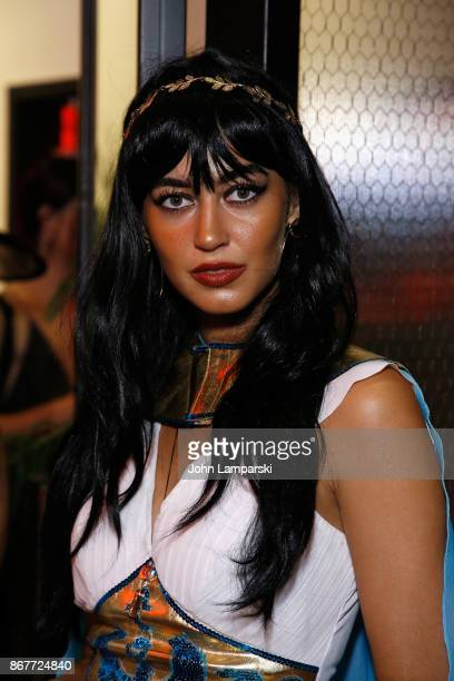 Model Mariana Downing attends Luann de Lesseps Dita Von Teese host Halloween party at Manor849 on October 28 2017 in New York City