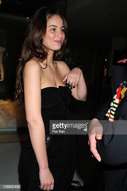 Model Marie Ange Casta attends the Musee des Arts Deco at Musee Des Arts Decoratifs on November 20 2010 in Paris France