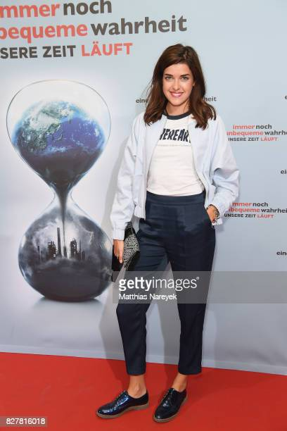 Model Marie Nasemann attends a special screening of 'An Inconvenient Sequel Truth to Power' at Zoo Palast on August 8 2017 in Berlin Germany
