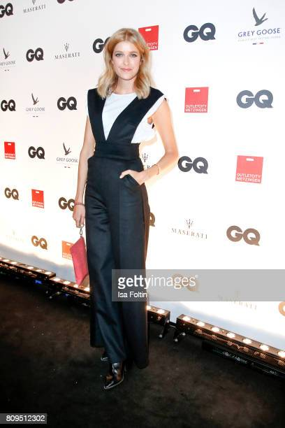 Model Marie Nasemann attends the GQ Mension Style Party 2017 at Austernbank on July 5 2017 in Berlin Germany