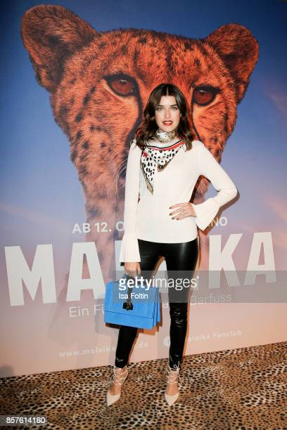 Model Marie Nasemann attends the 'Maleika' Film Premiere at Zoo Palast on October 4 2017 in Berlin Germany