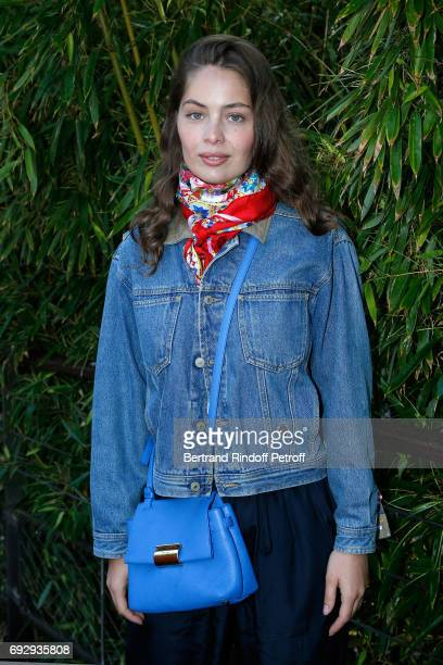 Model MarieAnge Casta attends the 2017 French Tennis Open Day Ten at Roland Garros on June 6 2017 in Paris France