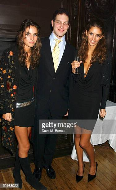 Model Marina Hanbury Lord Freddie Windsor and Rose Hanbury attend the book launch for historian Andrew Roberts new book 'Waterloo' at the English...