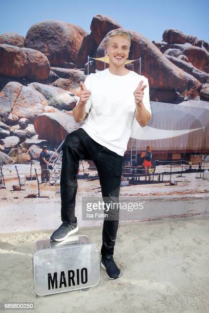 Model Mario Galla attends the 'Global Gladiators' exclusive preview at Astor Film Lounge on May 29 2017 in Berlin Germany