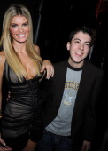 Model Marisa Miller and actor Christopher MintzPlasse attends Spike TV's 2nd Annual 'Guys Choice' Awards at Sony Studios on May 30 2008 in Culver...