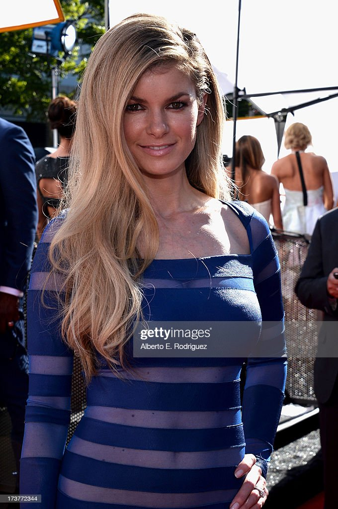 Model Marisa Miller attends The 2013 ESPY Awards at Nokia Theatre L.A. Live on July 17, 2013 in Los Angeles, California.