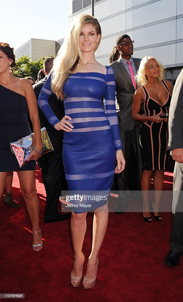Model Marissa Miller arrives at the 2013 ESPY Awards at Nokia Theatre L.A. Live on July 17, 2013 in Los Angeles, California.