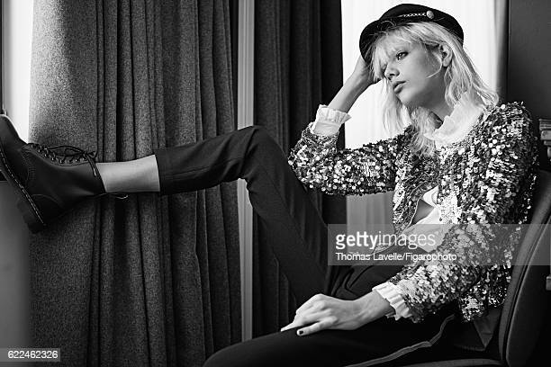 Model Marjan Jonkman is photographed for Madame Figaro on July 7 2016 in Paris France Jacket shirt pants and hat boots CREDIT MUST READ Thomas...