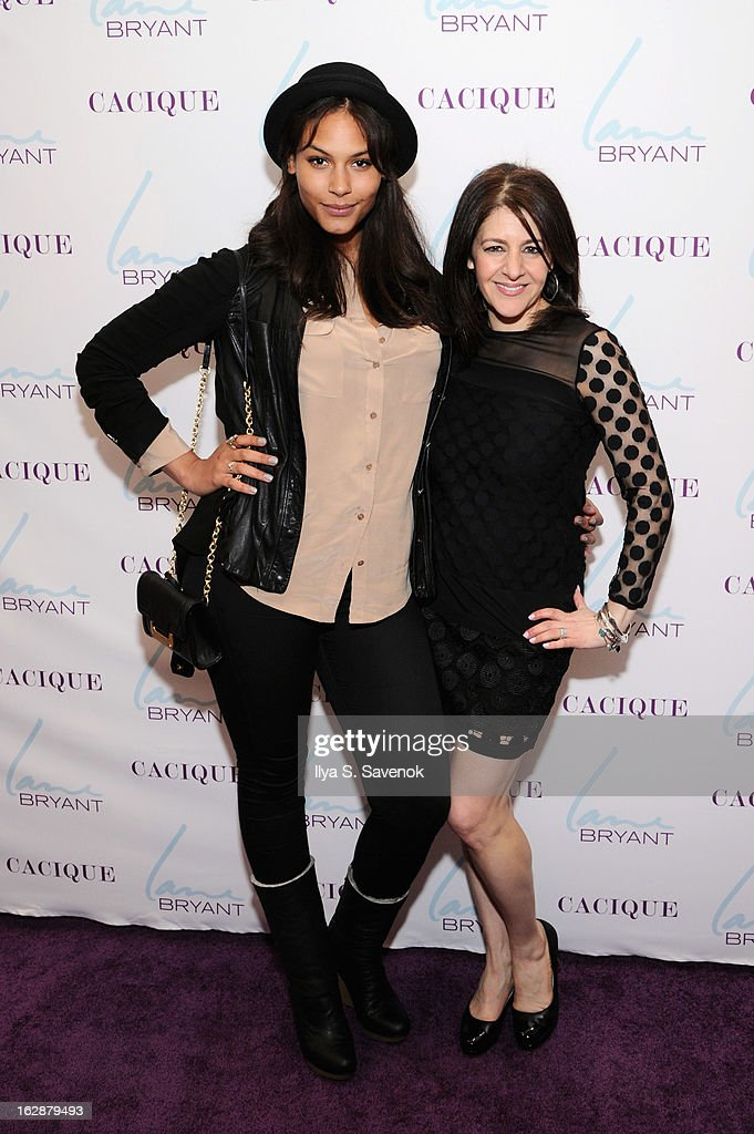 Model Marquita Pring and SVP & Chief Marketing Officer Liz Crystal attend Carnie Wilson & Jay Manuel Celebrate Lane Bryant's NYC Flagship on February 28, 2013 in New York City.