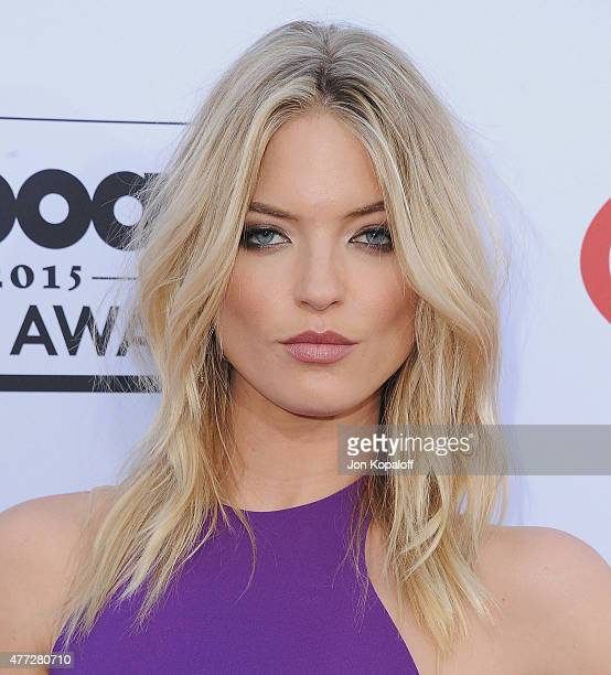 Model Martha Hunt arrives at the 2015 Billboard Music Awards at MGM Garden Arena on May 17 2015 in Las Vegas Nevada