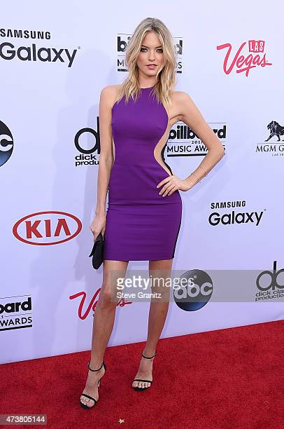 Model Martha Hunt attends the 2015 Billboard Music Awards at MGM Grand Garden Arena on May 17 2015 in Las Vegas Nevada