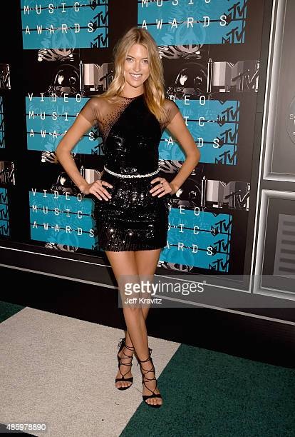 Model Martha Hunt attends the 2015 MTV Video Music Awards at Microsoft Theater on August 30 2015 in Los Angeles California